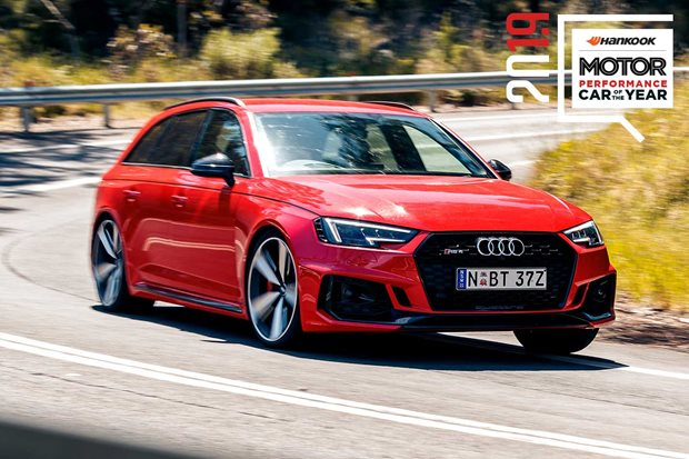 Performance Car of the Year 2019 6th place Audi RS4 Avant