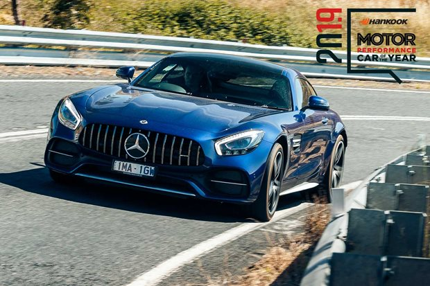Performance Car of the Year 2019 7th place Mercedes-AMG GT C