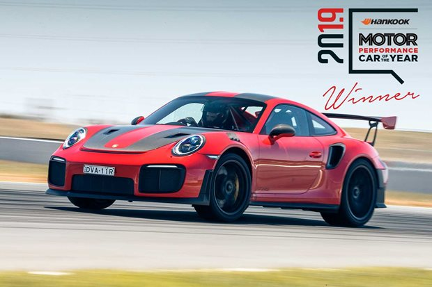 Porsche 911 GT2 RS: Performance Car of the Year 2019 - Winner