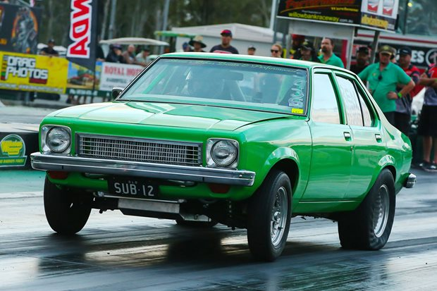 1100hp, twin-turbo LS-powered Holden Torana heading to Drag Challenge...