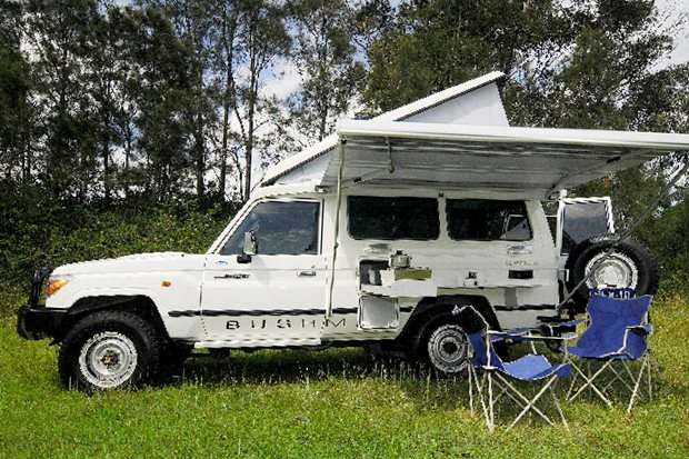 2009 Trakka Bushman Toyota Land Cruiser TroopCarrier review