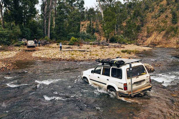Best 4x4 tracks near Melbourne Vic
