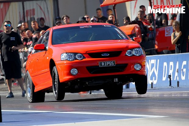 World's first seven-second street XR6 Turbo – Video