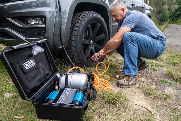 ARB CKMTP12 twin air compressor review