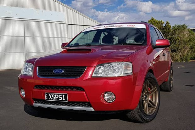 900hp Ford Territory sleeper – Video
