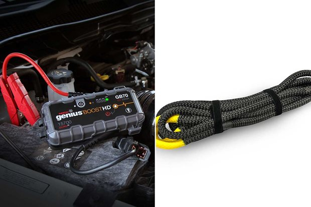 NOCO GB70 jump starter and Sherpa 4x4 recovery ropes: new 4x4 products