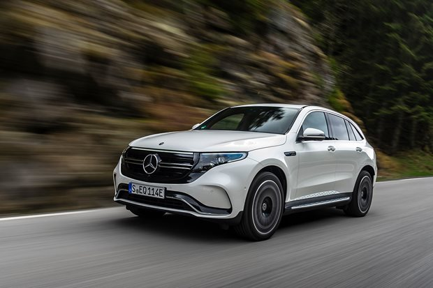 Mercedes-Benz EQC 400 2019 review