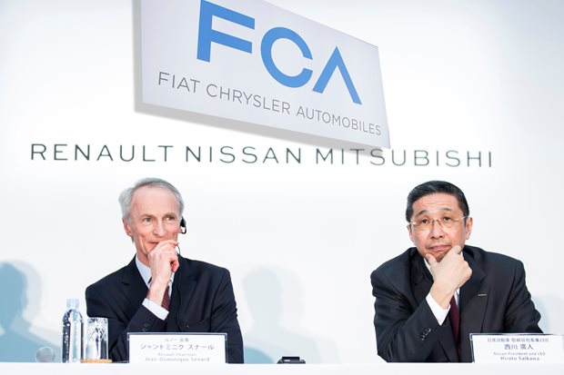 FCA proposes 50/50 merger with Renault