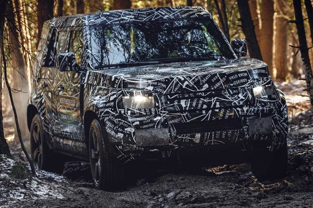 Spy shots of 2020 Land Rover Defender fail to impress