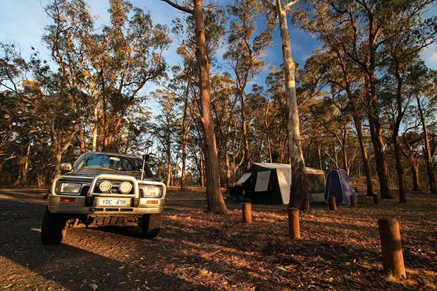 Best 4x4 tracks near Sydney NSW