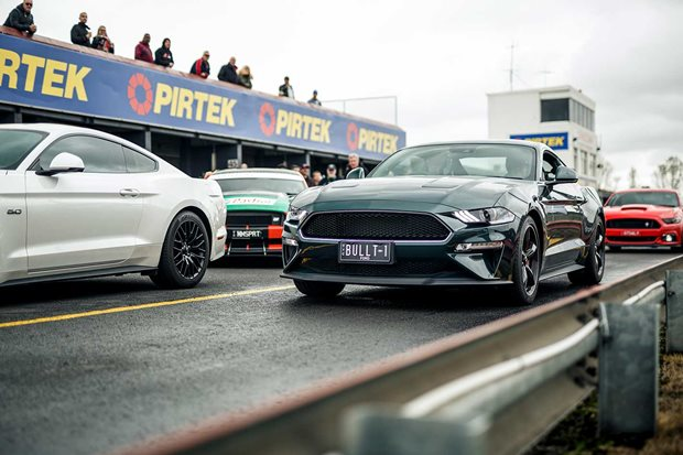 Mustang Motorsport track day Sandown photo gallery