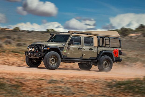 2019 Jeep Gladiator Wayout concept review