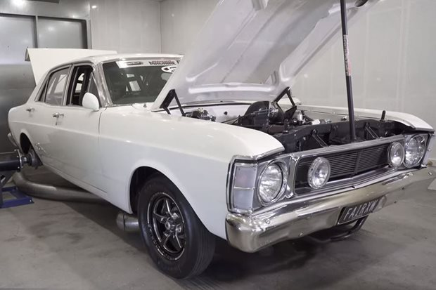 Dandy Engines 2800hp XW Falcon on the dyno – Video