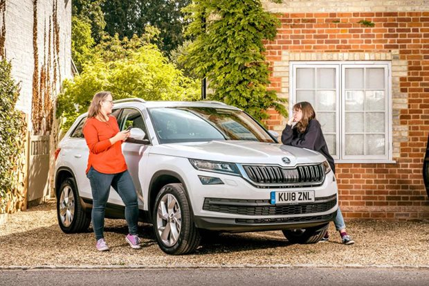 Fed up with your kids treating you like a taxi? Skoda makes them work...
