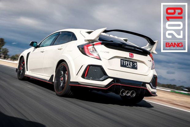 Honda Civic Type R track review Bang For Your Bucks 2019