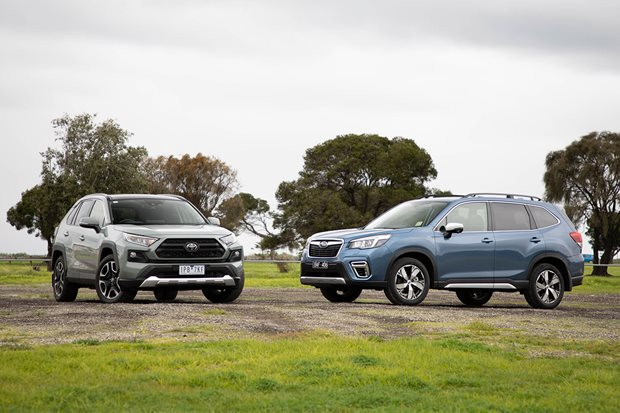 Toyota RAV4 Edge vs Subaru Forester 2.5i-S comparison review