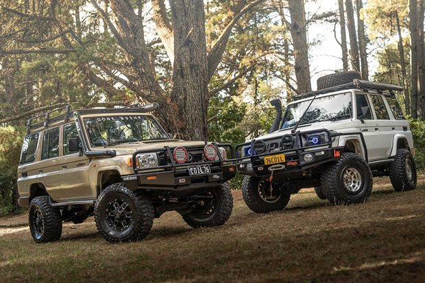 Double custom Toyota Land Cruiser 76 series review