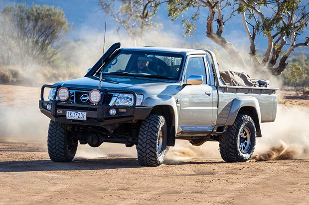 Custom Nissan GU Patrol single-cab review