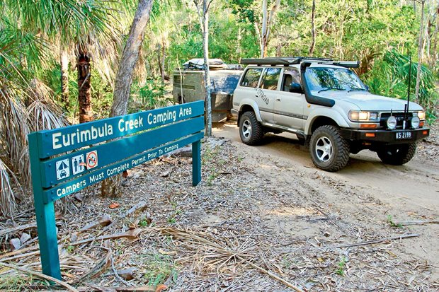 Eurimbula National  Park Queensland 4x4 travel guide