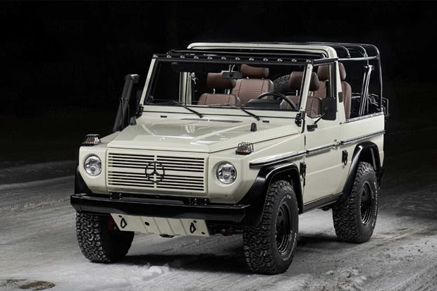 American specialist outfitter restores G-Wagens to Wolf spec