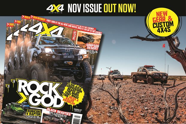 4X4 Australia November 2019 issue out now