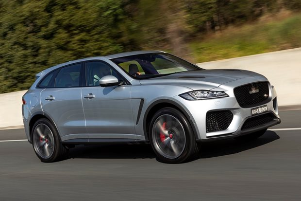 2019 Jaguar F-Pace SVR performance review
