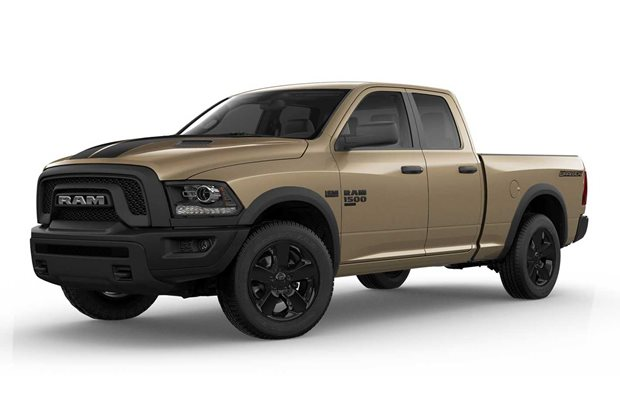 Ram 1500 Classic Warlock with Mojave Sand Package