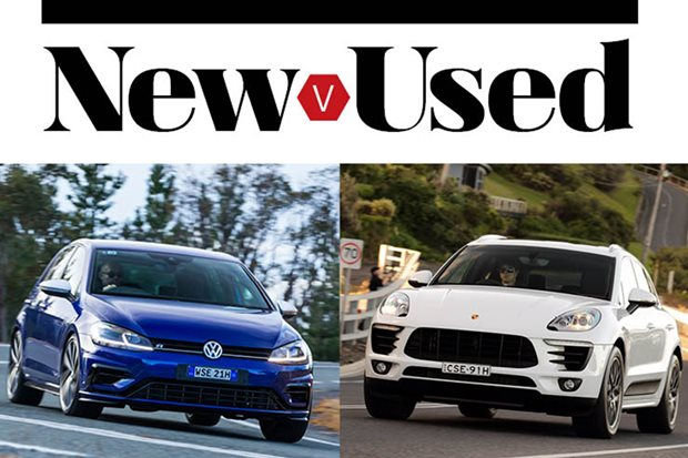 Buy the new Volkswagen Golf R or get a used Porsche Macan S