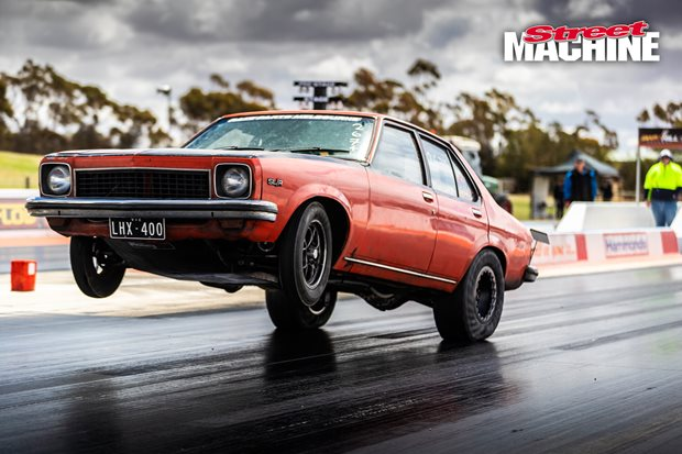 Monster wheelstands and PBs at Drag Challenge testing Swan Hill