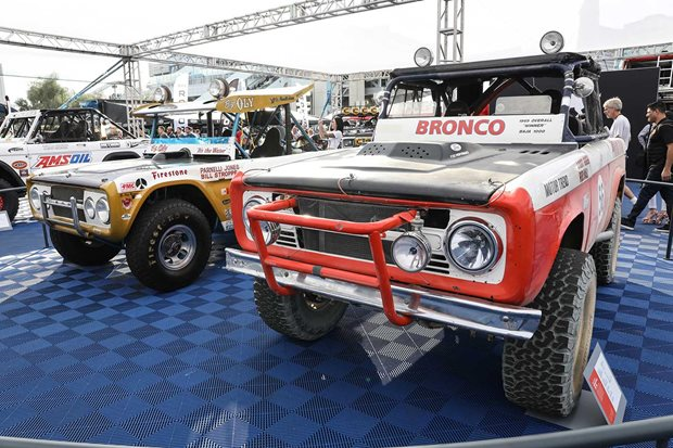 2019 SEMA Show outdoor exhibits