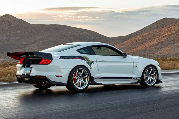 Shelby Dragon Snake concept revealed SEMA 2019