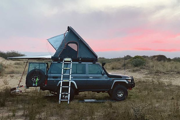 New Alu-Cab EFS Yakima tents and awnings