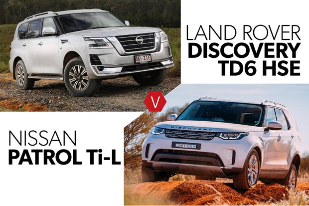 Buy the new Nissan Patrol or get a used Land Rover Discovery TD6
