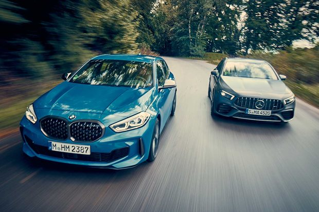 BMW M135i xDrive vs Mercedes-AMG A45 S comparison
