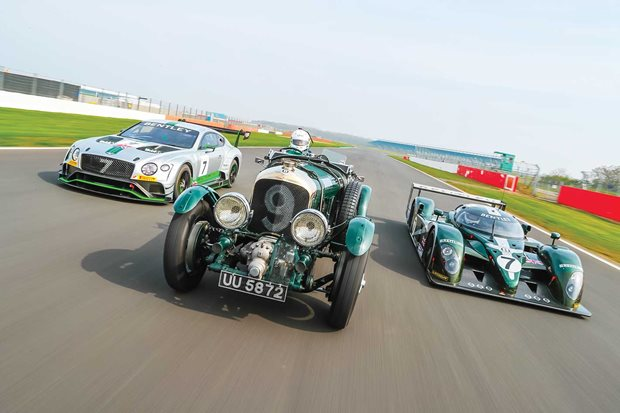 Bentley Le Mans racers driven