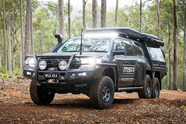 MSA 4x4 Toyota LandCruiser 200 6x6 Project Super Cruiser review