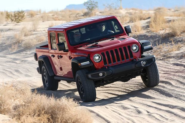 No diesel engine Jeep Gladiator