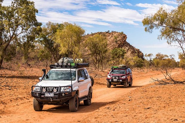 Binns Track 4x4 travel guide