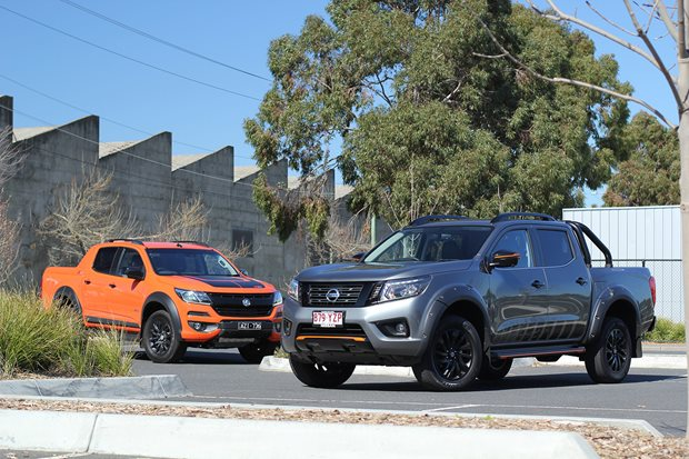 Nissan Navara N-Trek vs Holden Colorado Z71 review
