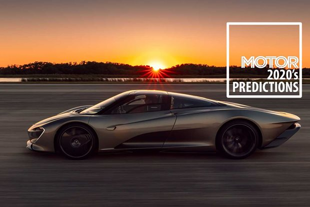 Performance car trends predictions 2020s