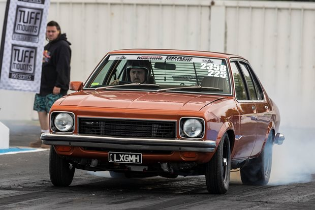Twin-turbo Holden 308 LX Torana at Drag Challenge 2019 – Video