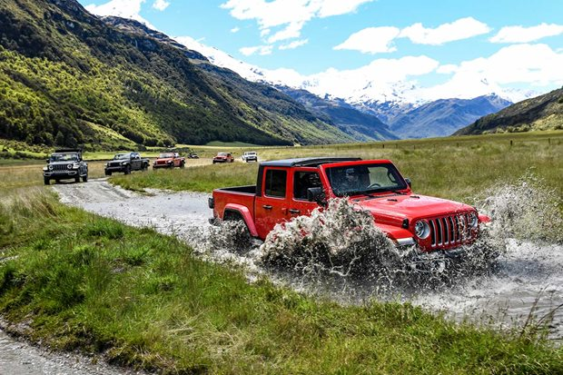 2020 Jeep JT Gladiator off-road review New Zealand