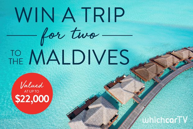 WIN A TRIP FOR TWO TO THE MALDIVES