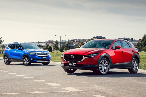 Is the Mazda CX-30 a better small SUV than the Kia Seltos?