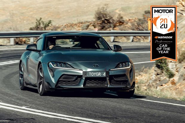 Toyota GR Supra Performance Car of the Year 2020 results
