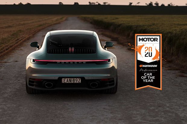 Porsche 911 Carrera S Performance Car of the Year 2020 results