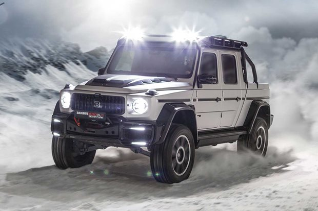Brabus 800 Adventure XLP G63 pick-up revealed
