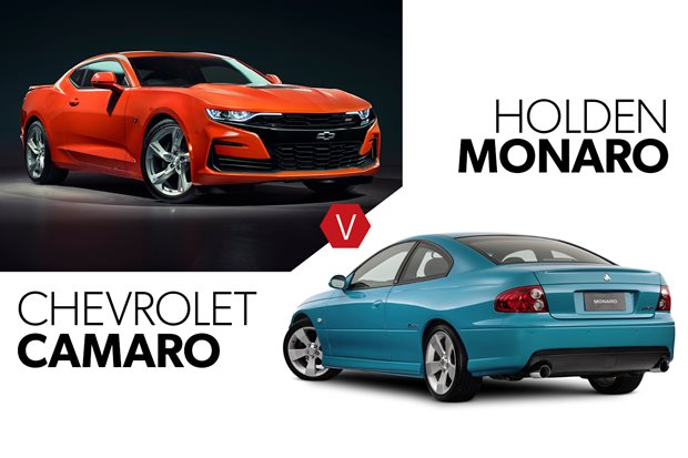 Buy the new Chevrolet Camaro 2SS or get a used Holden Monaro CV8 Z