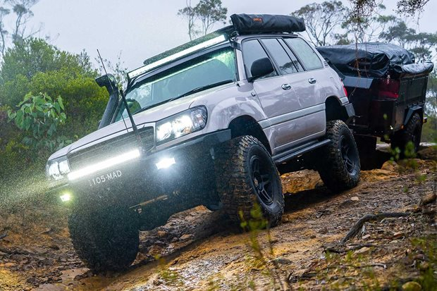 Custom adventure Toyota LandCruiser 105 Series review