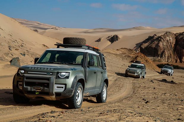 2020 Land Rover Defender 110 range pricing details